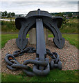 J3878 : Anchor of the 'MSC Napoli', Belfast by Rossographer