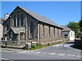 SX5973 : Former Methodist Chapel, and church, Princetown by Derek Harper