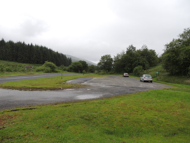 Car Park at the Red Deer Range