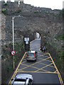 SH7877 : Road through Conwy Castle walls by Richard Hoare