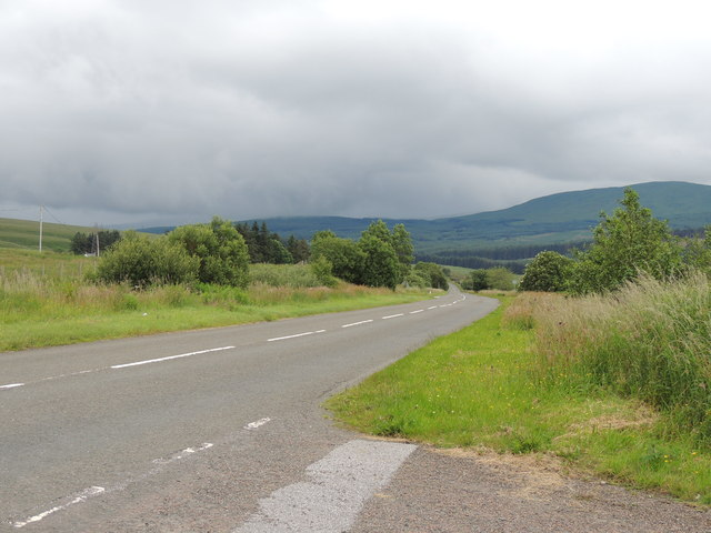 A713 to Castle Douglas