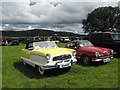 SJ2205 : Vintage vehicle rally at Coed y Dinas by Penny Mayes
