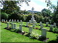 TQ3067 : War graves and memorial in Croydon Cemetery by Ian Yarham