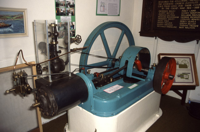 Exmouth Museum - steam engine