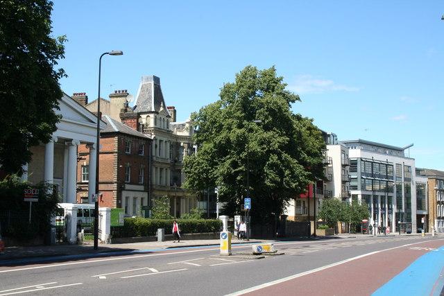 Clapham:  Clapham Road