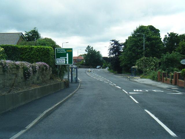 A628 Barnsley Road