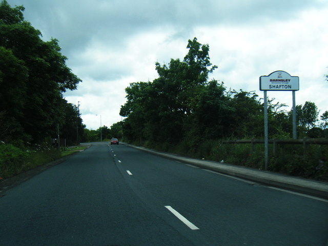 A628 at Shafton boundary