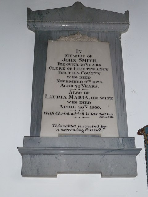 St Michael & All Angels, Weyhill: memorial (II)