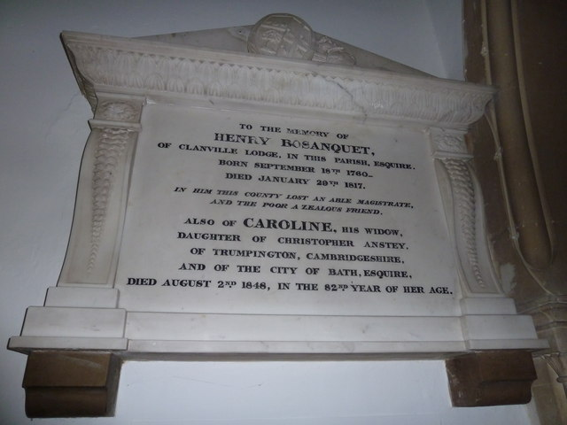 St Michael & All Angels, Weyhill: memorial (III)