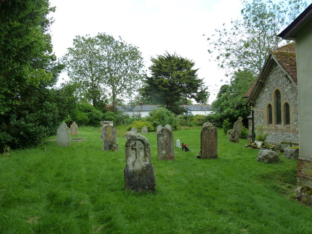 St Michael & All Angels, Weyhill: churchyard (B)