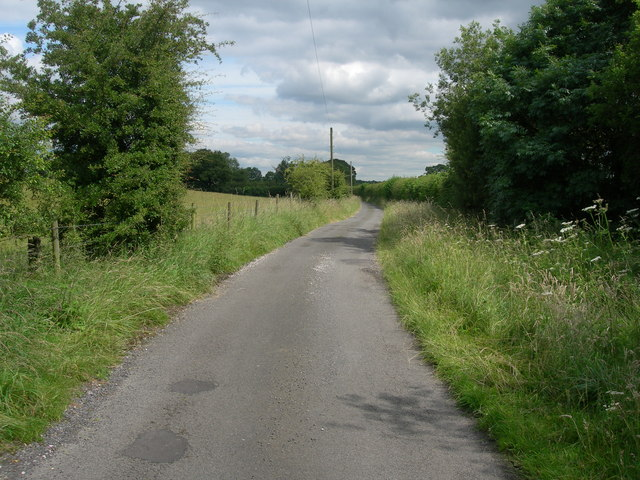 Looking North on Dairy House Lane