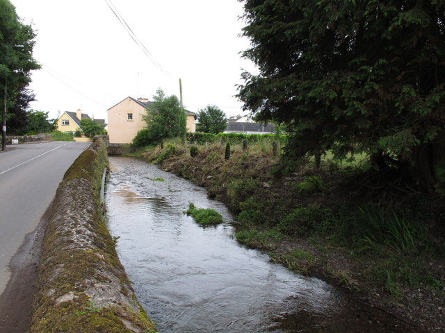 Curragheen River in Curraheen Village