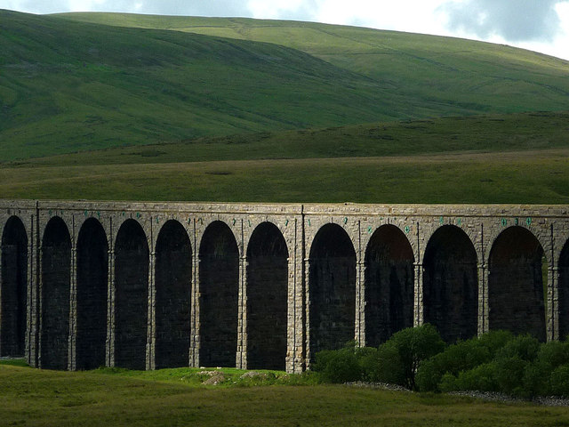 Sun on the Ribblehead Viaduct