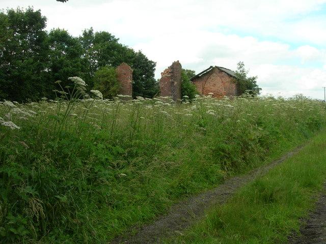 Derelict Dairy House