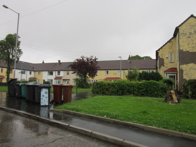 Houses on Newall Lane, Newall Green