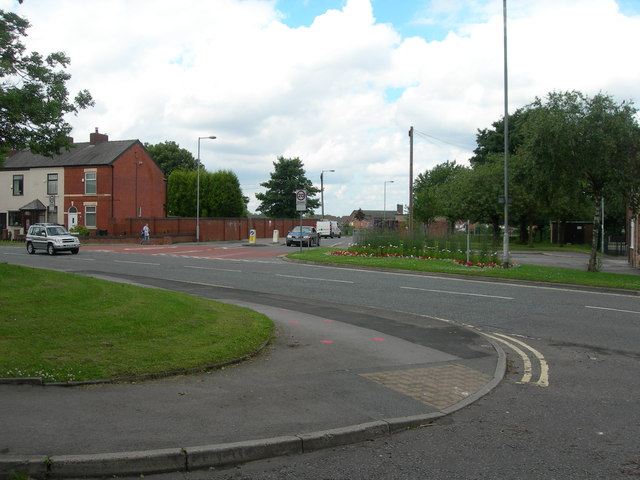Junction for Medlock Vale Leisure Centre