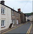 SO2117 : Narrow street ahead, Llangattock by John Grayson