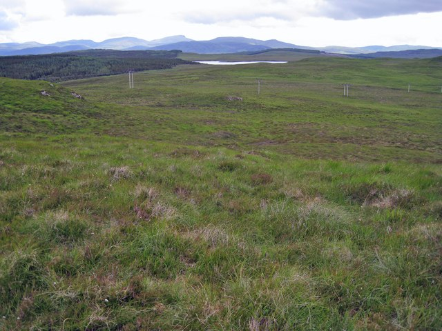 North east from Creag Bhreac