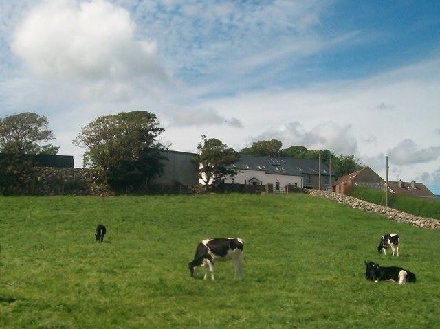 Farmhouse on the Annalong Road