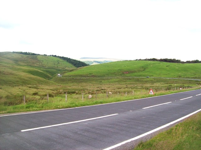 The A54 Road near Burbage