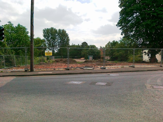 Demolished pub, Awsworth Road