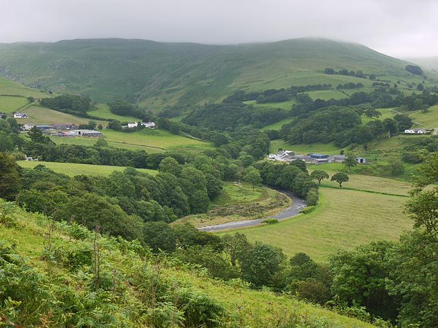 Cwm Ystwyth in July