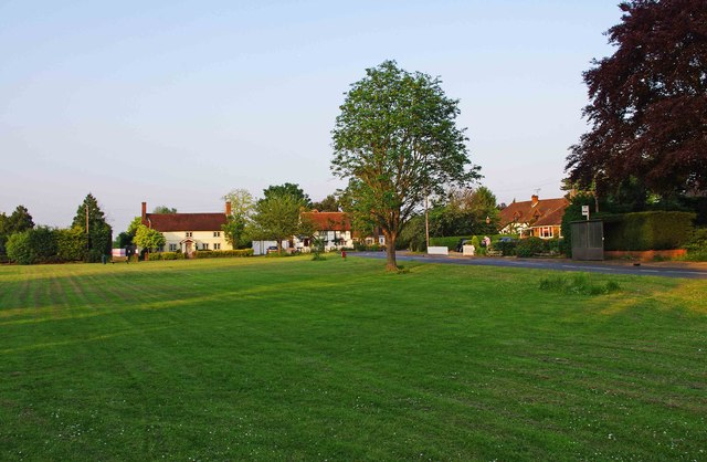 The village green at Send Marsh