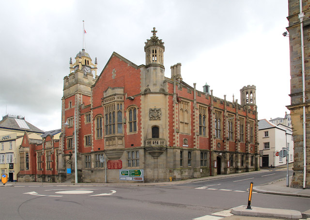 Town Hall and Public Library, Bideford