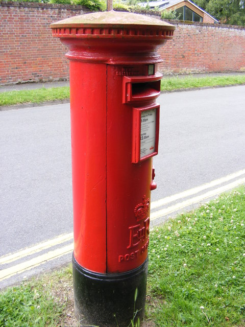 Church Lane Postbox