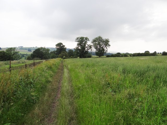 Footpath near Haddon Hall