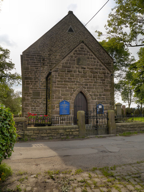 United Reformed Church, Tockholes (East Wall)