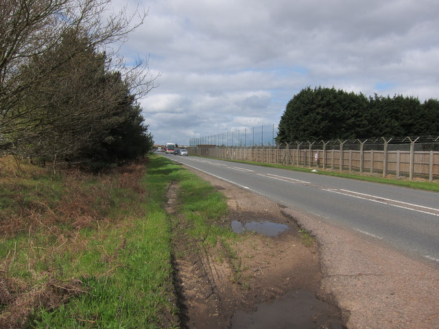 A1065 past Lakenheath Airfield