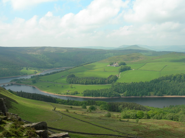 View Southwest from Whinstone Lee Edge