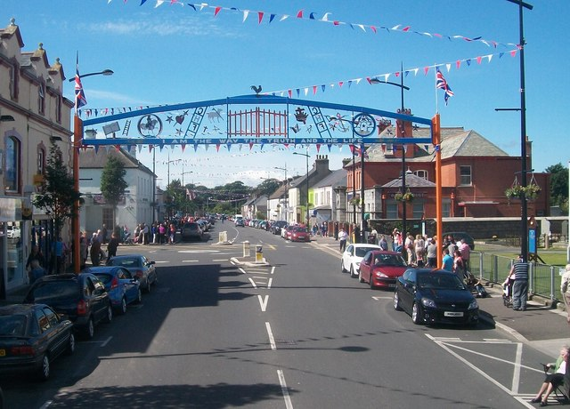 The Kilkeel Orange Arch