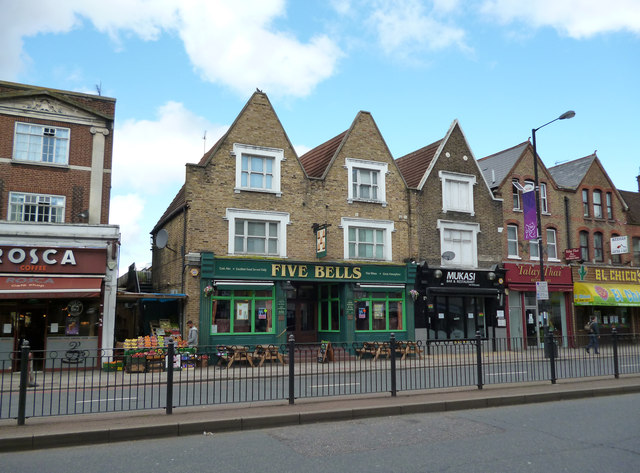 Streatham:  The 'Five Bells'