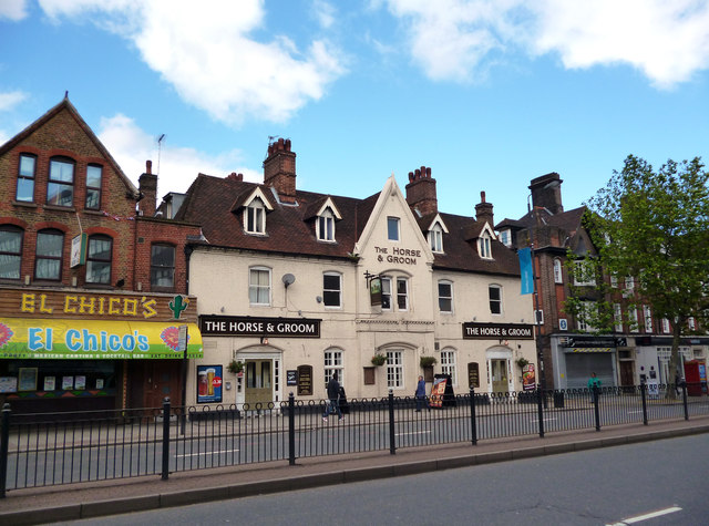 Streatham:  The 'Horse and Groom'