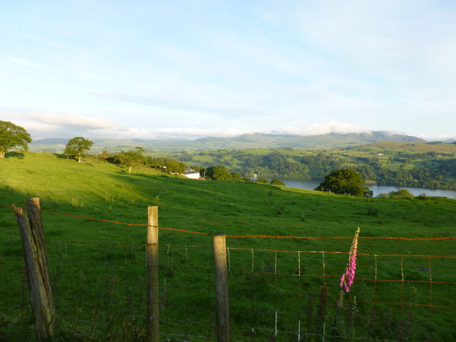 Overlooking Lake Bala