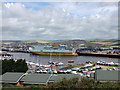 TQ4500 : Car Ferry in Newhaven Harbour by PAUL FARMER