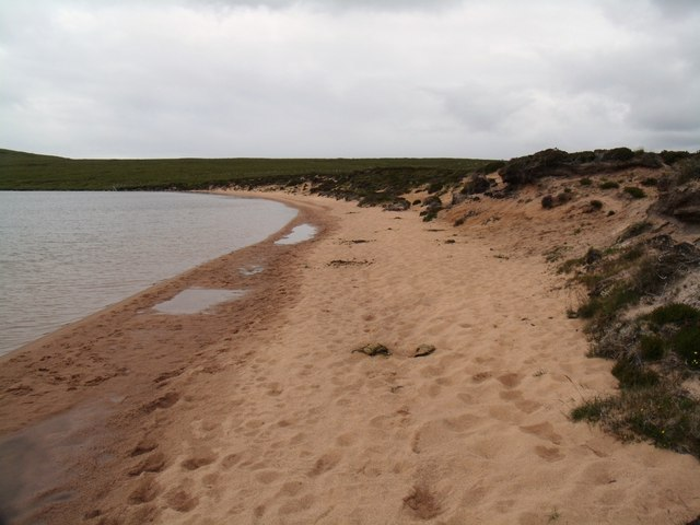 Eastern shore of Loch na Gainimh