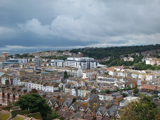 Hastings town centre and suburbs