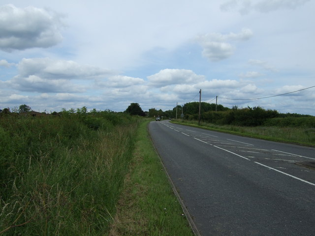Paudy Lane towards the A46