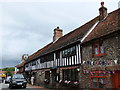 TQ5203 : The George Inn, High Street, Alfriston by PAUL FARMER