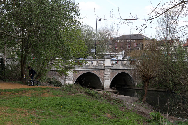 River Brent at Hanwell