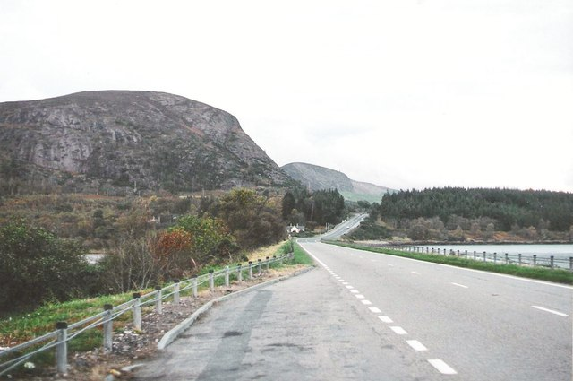 the A9 near the Mound