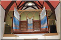 TQ8511 : Organ, St Andrew's Church, Fairlight by Julian P Guffogg