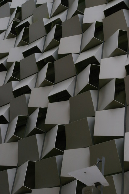 """The Cheese-Grater"", Sheffield: Charles Street car park, detail"