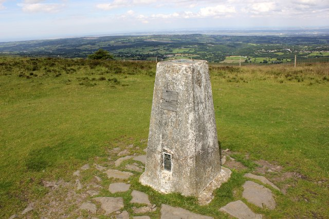 Moel Famau Trig Point