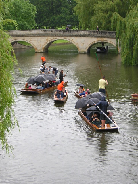 Summer 2012: punting in Cambridge