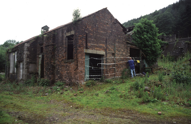 Backbarrow Ironworks - blowing engine house