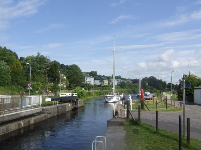 Crinan Canal - Lock No 4